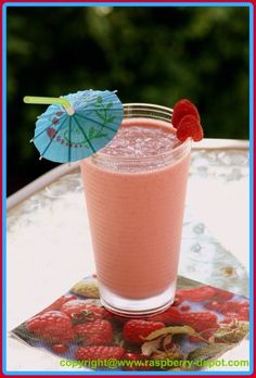 Pineapple Raspberry Smoothie Recipes - Breakfast Smoothie Recipes