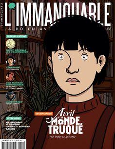 cover magazine L'immanquable n° 58 Magazine L, Interview, Legrand, Anime, Comic Books, Comics, Cover, Movie Posters, Image