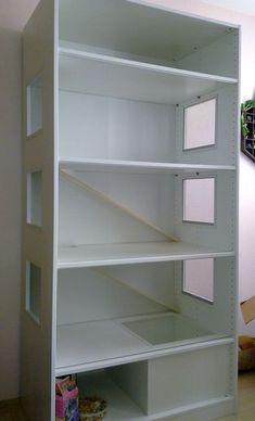 Userin Wabachi aus dem Fellnasen-Forum  hat für ihren Goldhamster Dinis 3 Stockwerke in einem IKEA PAX Kleiderschrank umgebaut (Originalth...