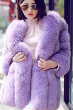 Lilac fox love it