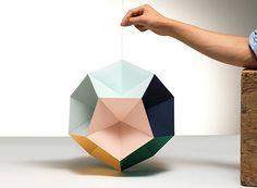 DIY Geometric Mobile