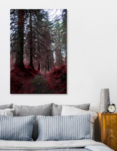 Discover «Forest spirit», Limited Edition Canvas Print by Hanns-Peter Eisold - From 55€ - Curioos