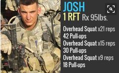 Josh hero wod. Overhead squats and pull ups