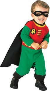 Baby Robin Costume - Teen Titans - Baby Boy Costumes - Infant, Baby Costumes - Baby, Toddler Costumes - Halloween Costumes - Categories - Party City