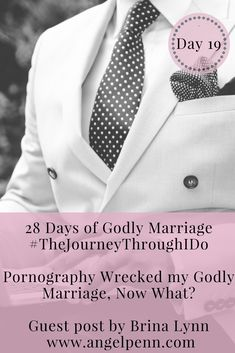 Godly marriage. We seek it; we desire it. But every day, Godly marriages are being destroyed by the ugliness of pornography. How do we deal with the betrayal and snatch back our Godly marriage?
