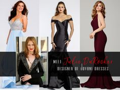 11 Questions With Jovani Designer Julie DuRocher!  Shopping for a lavish event is usually exciting, but navigating through dress after dress can quickly become a tedious task.  edressme caught up with Julie DuRocher, Jovani's Design Director, and asked her everything from how to shop online to the biggest trends in formalwear right now.  With a keen eye for striking silhouettes, her posh creations are meant for display as much as wear.  Read more on DuRocher's successful fashion career…