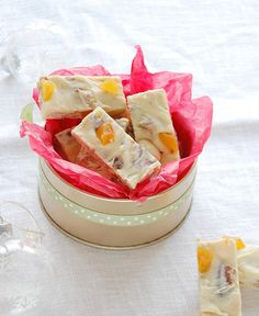 Love Italian nougat. Never thought about making it...