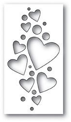 Poppystamps 1994 Heart Confetti Collage wafer thin craft die made from steel. Stencil Patterns, Stencil Art, Stencil Designs, Stencils, Heart Stencil, Bird Template, Heart Template, Graffiti Lettering Fonts, Paper Art