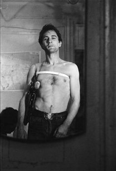 "Robert De Niro in ""Taxi Driver"" directed by Martin Scorsese, 1976"