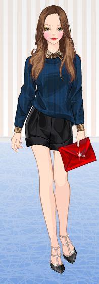 Dress up games | fashion | moda | roiworld | sweety games | look