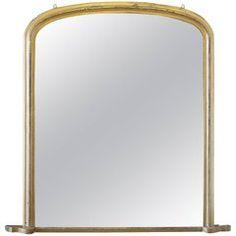 a5dd619f812b 19th Century Antique Louis Philippe Giltwood Mantle Mirror Mantel Mirrors