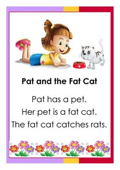 Easy reading for beginning readers. Here are some English reading passages your kids can use to practice reading and comprehension. Free Reading Comprehension Worksheets, First Grade Reading Comprehension, Grade 1 Reading, Phonics Reading, Reading Practice, Reading Lessons, Kids Reading, Card Reading, Grammar For Kids