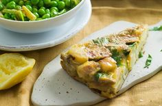 Spanish tortilla with artichokes