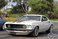 Fast and Furious 6 Mustang 1969. This is the actual car used in the movie.