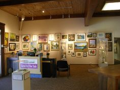Art within Main Street Gallery inside the Cedarburg Cultural Center.