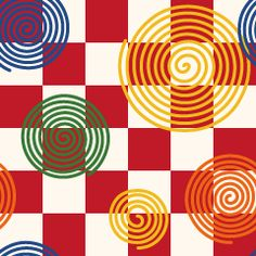 Free background material for the design spiral pattern-Japanese Japanese Pattern