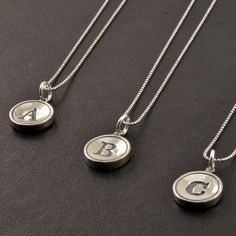 Personalized+Jewelry++Sterling+Silver+Initial+by+GwenDelicious,+$49.00