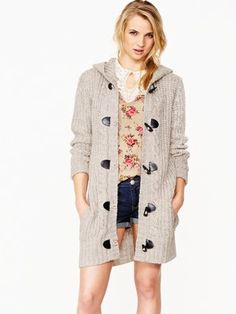 South Knitted Duffle Cardigan, http://www.kandco.com/south-knitted-duffle-cardigan/1108370084.prd