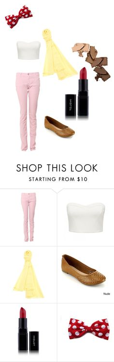 """""""Banana Split"""" by jrsong ❤ liked on Polyvore featuring Armani Jeans, Forever New, PRIVATE 0204, dessert and decadence"""