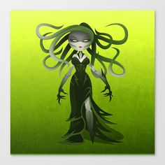 Vraska Stretched Canvas by Jonathan Valiente - $85.00
