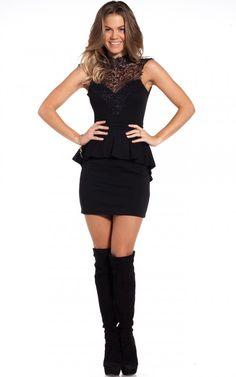 Je T'aime dress in black | SHOWPO Fashion Online Shopping