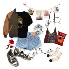"""7. Friday"" by thatssokalea on Polyvore. #fashion #outfit #90sfashion #90s #grunge #tumblr"