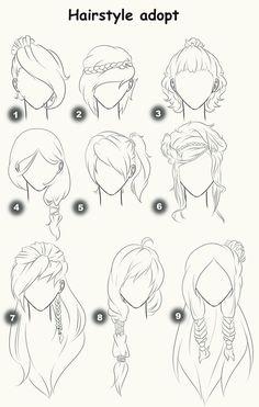 www.vanissima.hu - Hair ideas to feel like in a manga! #tips #tutorial #vanissima #haj