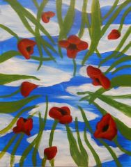 Poppy Day Dreamer at Pinot's Palette The Woodlands