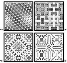 Looking for Free Blackwork Embroidery Patterns? – Needle'nThread.com