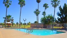 One of 3 heated swimming pools at Ironwood Country Club in Sun Lakes. Or head over to Oakwood's large salt water pool #sunlakesironwood