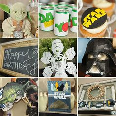 Mommy Lessons 101: Star Wars Birthday Party Ideas