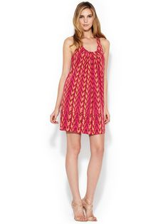 Pleated Scoopneck Shift Dress, by Ali Ro at Gilt $119