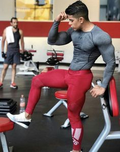Men's Training Gear Mens Leotard, Gym Boy, Gym Outfit Men, Mens Tights, Gym Tank Tops, Gym Style, Athletic Men, Leggings, Gym Wear