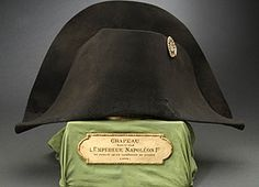 Napoleon's Bicorne Hat. Worn during the Russian Campaign. Circa 1812. Montreal Museum of Fine Arts. Montreal, Canada.