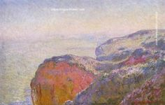 Claude Monet Cliff near Dieppe in the Morning, 1897 painting for sale outlet online, painting