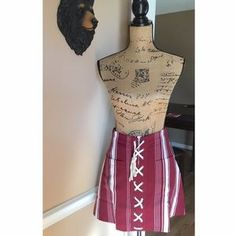 I just discovered this while shopping on Poshmark: Lovers & Friends Beachwood Skirt. Check it out! Price: $85 Size: S