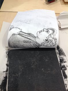 Mono printing - detailed drawing, thinking about composition Gelli Printing, Stamp Printing, Look At My, Classroom Art Projects, Collagraph, A Level Art, Middle School Art, Tampons, Art Techniques