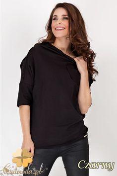 Modna bluzka z szerokim rękawem wyprodukowana przez AWAMA.  #cudmoda #moda #styl #ubrania #odzież #clothes #bluzy #bluzki #women #fashion