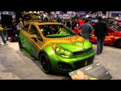 Kia and DC Comics Justice League Custom Cars at SEMA