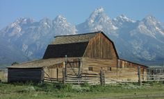 John Moulton Barn Mormon row Nord Jackson