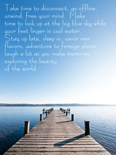 Beautiful reminder to breathe deeply and see! Great Quotes, Quotes To Live By, Me Quotes, Inspirational Quotes, Quotable Quotes, Motivational, Pomes, Beach Quotes, Lake Life Quotes