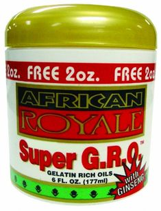 African Royale Super Gro - Regular 6 oz. (Pack of 6) >>> This is an Amazon Affiliate link. Want additional info? Click on the image.