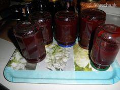 Jablkovo-černicový džem