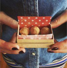 Valentine's Day DIY: Miniature Chocolate Truffles!