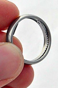 Titanium Escape Ring | 33  Insanely Sneaky Pieces Of Jewelry Every Girl Needs