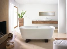20 ideas for a freestanding bath in the bathroom | Rilane - We Aspire to Inspire