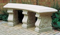 """Curved 52"""" Bench Seat"""