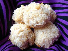Coconut Snowballs - going to try these, need to find some coconut flour first.