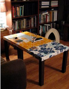 decoupage ikea tables
