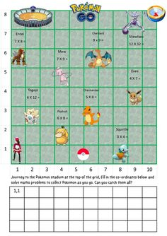 Pokemon Go Co-ordinates